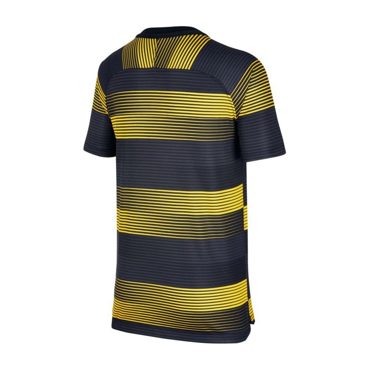 timeless design 7340a e4fd3 Camiseta Manchester City FC Dry Squad SS GX 2 2018-2019 Niño Optical  yellow-Black
