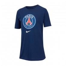 Camiseta Paris Saint-Germain Evergreen 2018-2019 Niño Midnight navy