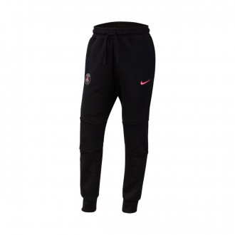 Long pants   Nike Paris Saint-Germain NSW Tech Fleece 2018-2019 Niño Black-Hyper pink