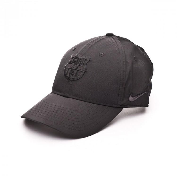 Gorra Nike FC Barcelona Dry L91 2018-2019 Black - Soloporteros es ... 3d226b45597