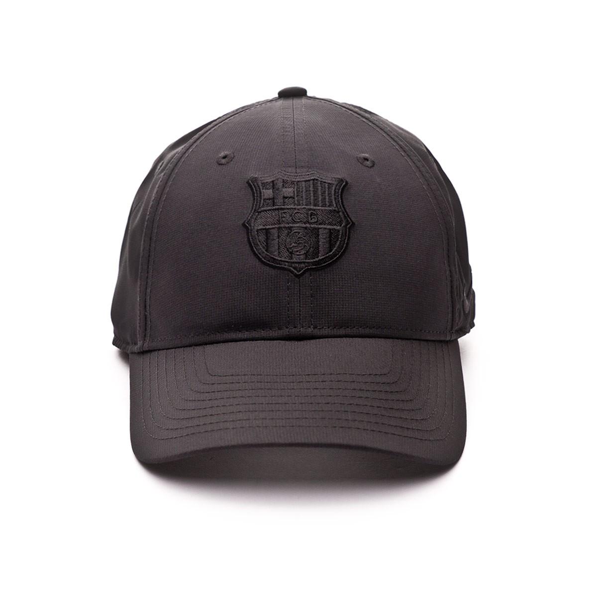 53237e7a8a25b Cap Nike FC Barcelona Dry L91 2018-2019 Niño Black - Tienda de ...