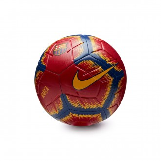 Ball  Nike FC Barcelona Strike 2018-2019 Storm red-Deep Royal blue-University gold