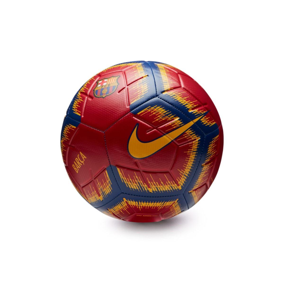 80e71d6ff Ball Nike FC Barcelona Strike 2018-2019 Storm red-Deep Royal blue ...