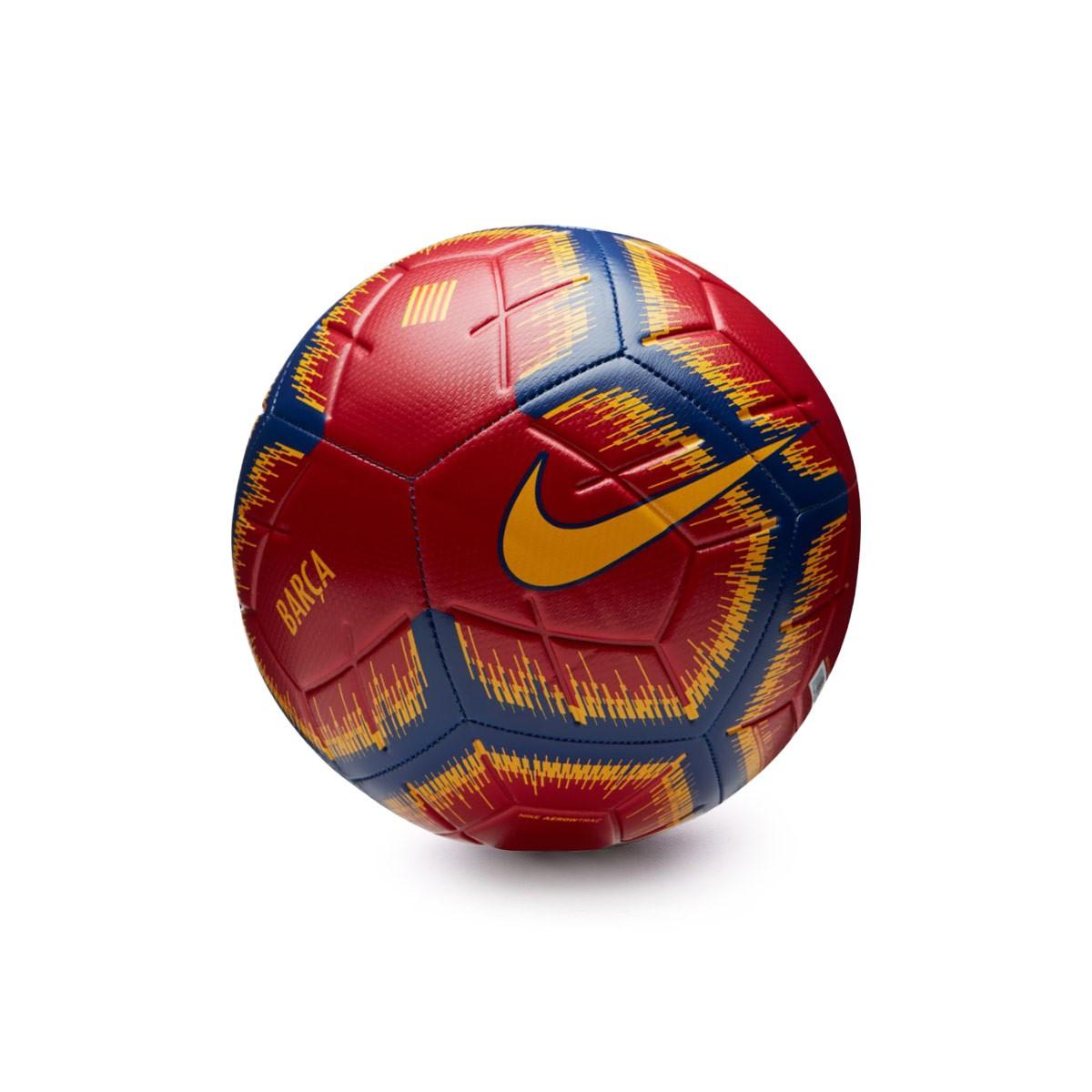 Ball Nike FC Barcelona Strike 2018-2019 Storm red-Deep Royal blue ... 39eda46fd5bad