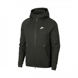 Chaqueta Nike Sportswear Tech Fleece 2019 Sequoia-White