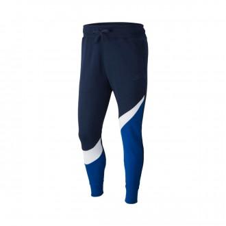 Pantalón largo  Nike Sportswear 2019 Indigo force-White-Obsidian
