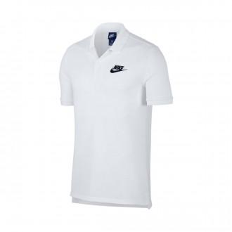 Polo  Nike Sportswear 2019 White-Black