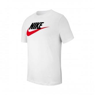 Camisola  Nike Sportswear 2019 White-Black-University red