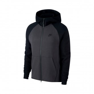 Casaco  Nike Sportswear Tech Fleece 2019 Anthracite-Black