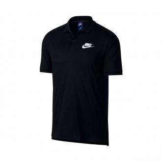 Polo  Nike Sportswear 2019 Black-White