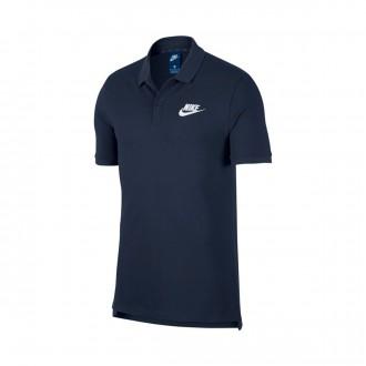 Polo  Nike Sportswear 2019 Obsidian-White