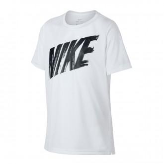 Camiseta  Nike Dri-FIT 2019 Niño White-Black