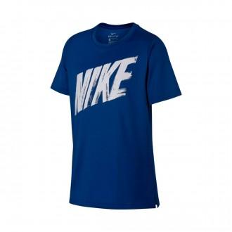 Camiseta  Nike Dri-FIT 2019 Niño Indigo force-White