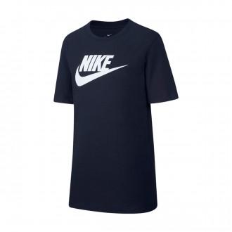 Camiseta  Nike Sportswear 2019 Niño Obsidian-White
