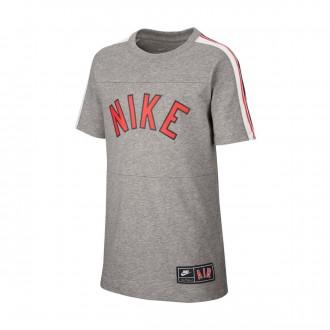 Camiseta  Nike Sportswear 2019 Niño Dark grey heather-Black