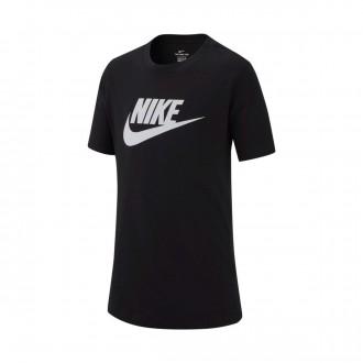 Camiseta  Nike Sportswear 2019 Niño Black-White
