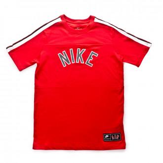 Camiseta  Nike Sportswear 2019 Niño University red-Black