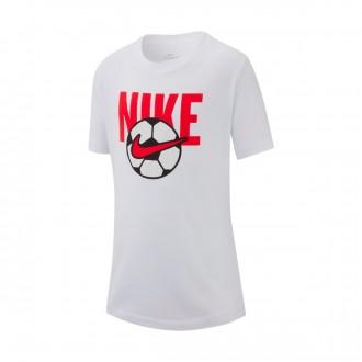 Camiseta  Nike Sportswear 2019 Niño White