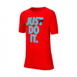 Camiseta  Nike Sportswear 2019 Niño Habanero red-Photo blue
