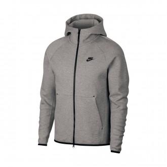 Chaqueta  Nike Sportswear Tech Fleece 2019 Dark grey heather-Black