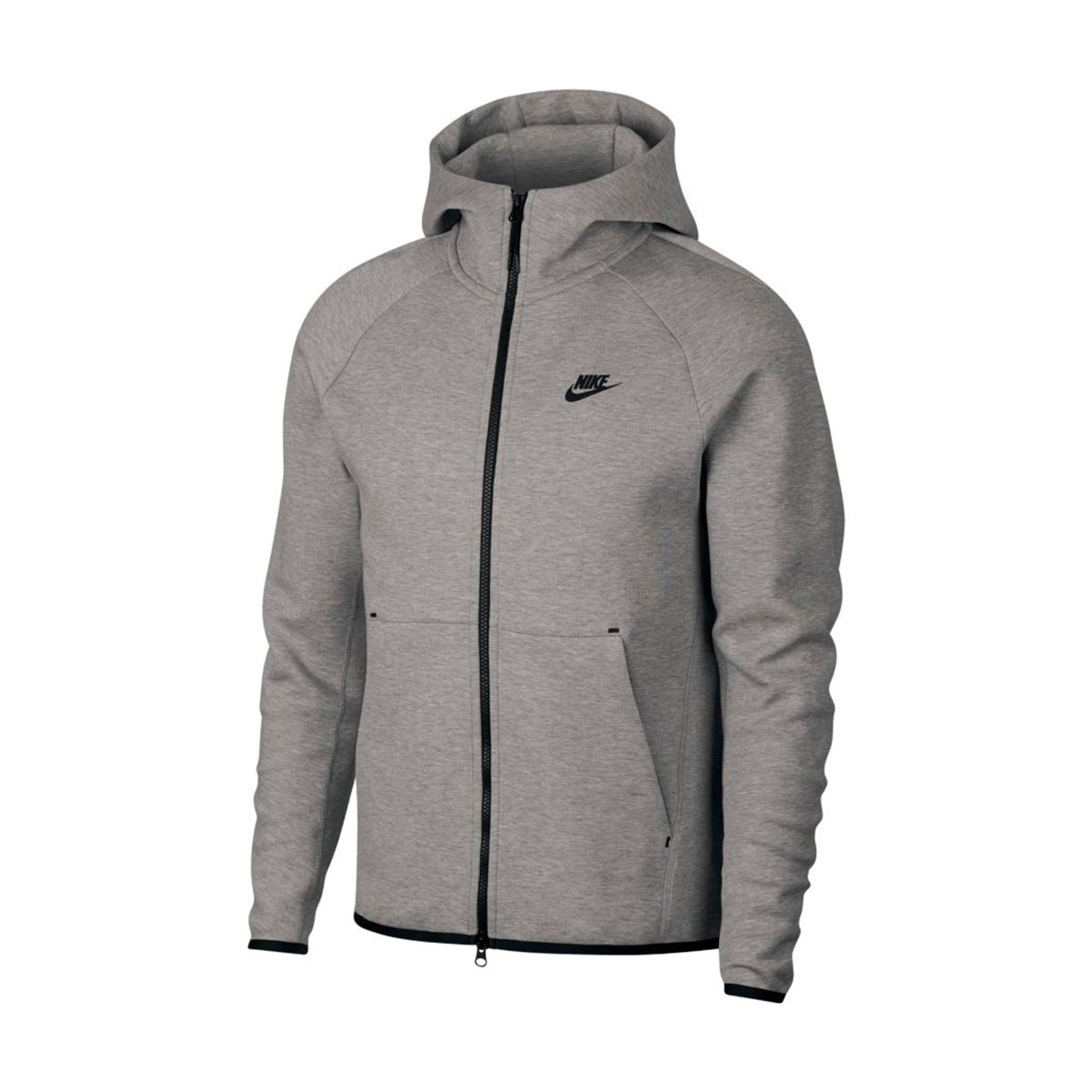 ebf628080 Nike Sportswear Tech Fleece 2019 Jacket. Dark grey heather-Black ...