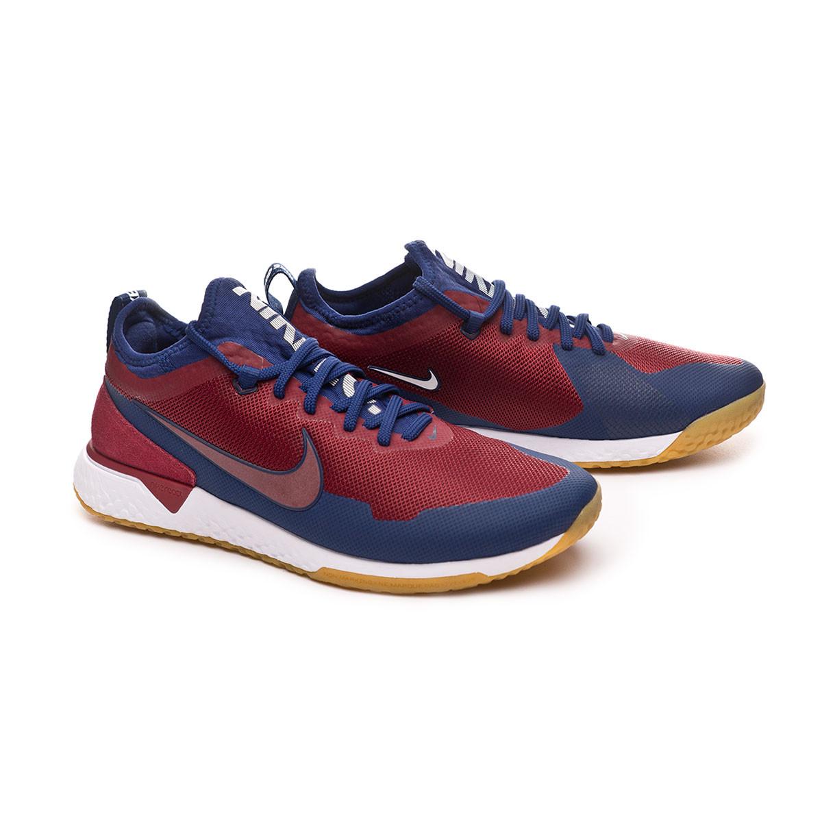 59722046f373 Tenis Nike Nike F.C. Team red-White-Blue void-Gum light brown -  Soloporteros es ahora Fútbol Emotion