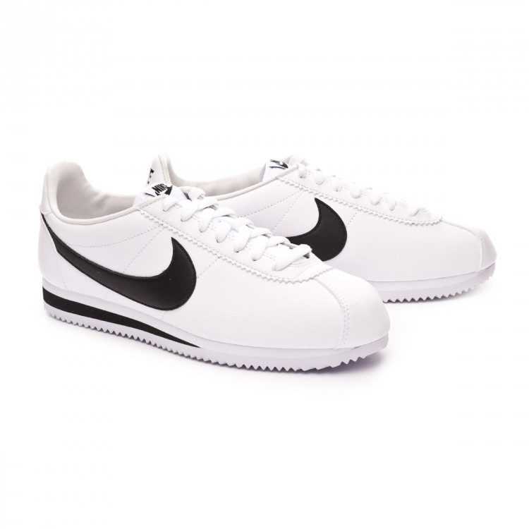 2d389e4fe69 Trainers Nike Classic Cortez Leather 2019 White-Black - Football ...