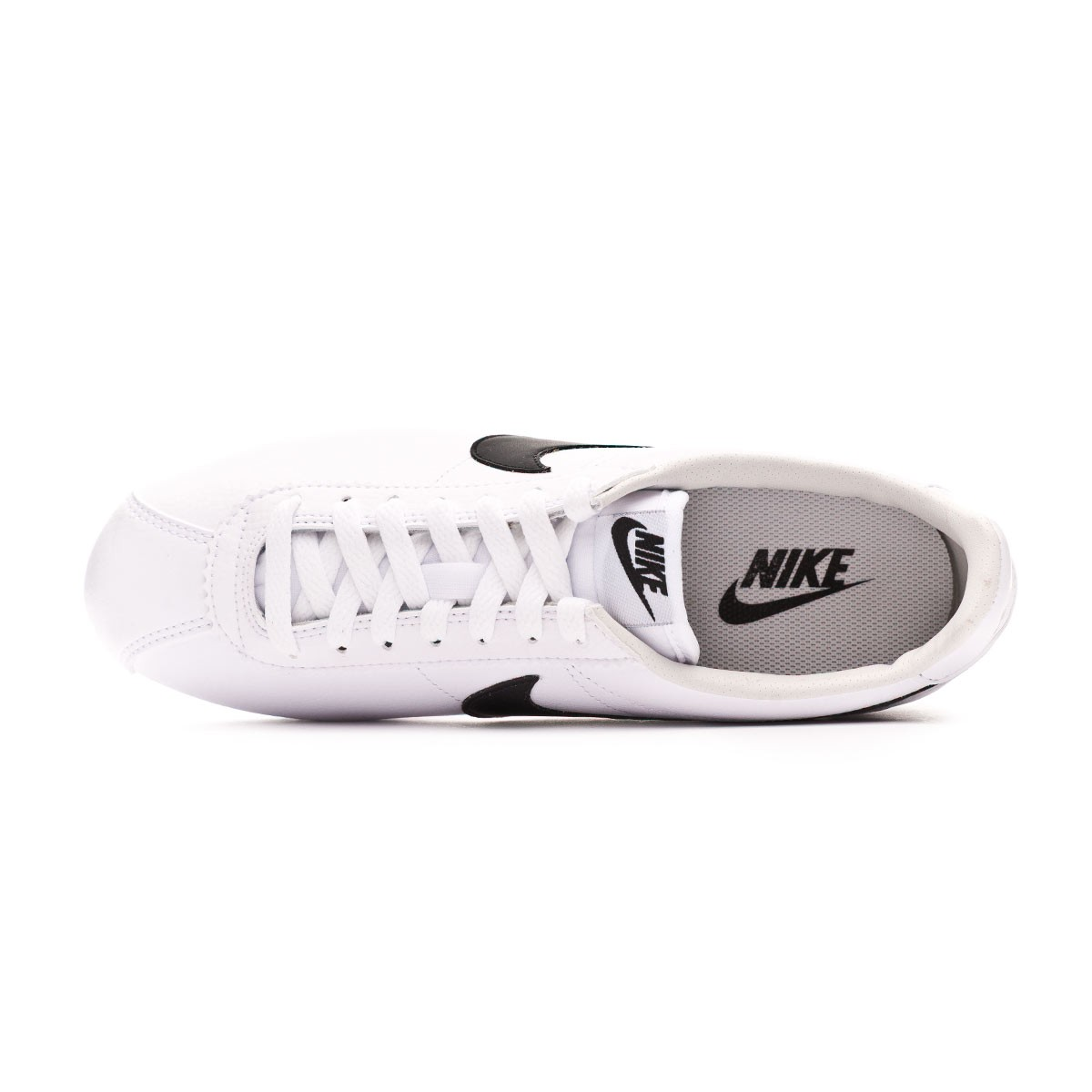 ed0ed5586811d Tenis Nike Classic Cortez Leather 2019 White-Black - Tienda de fútbol  Fútbol Emotion