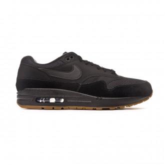Zapatilla Nike Air Max 1 2019 Black-Gum med brown