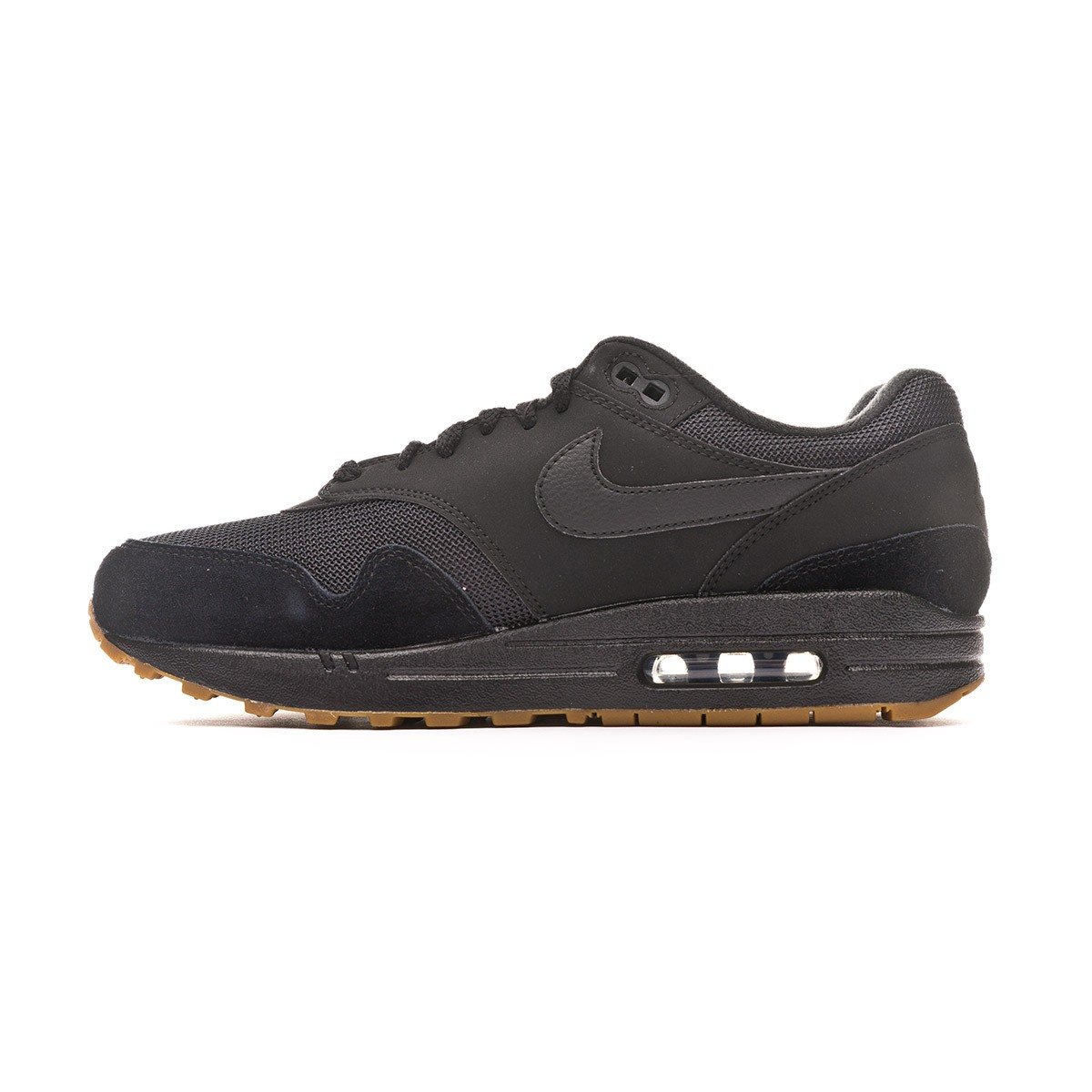 d331d70237b Trainers Nike Air Max 1 2019 Black-Gum med brown - Football store Fútbol  Emotion