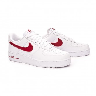 Trainers  Nike Air Force 1 '07 3 2019 White-Gym red
