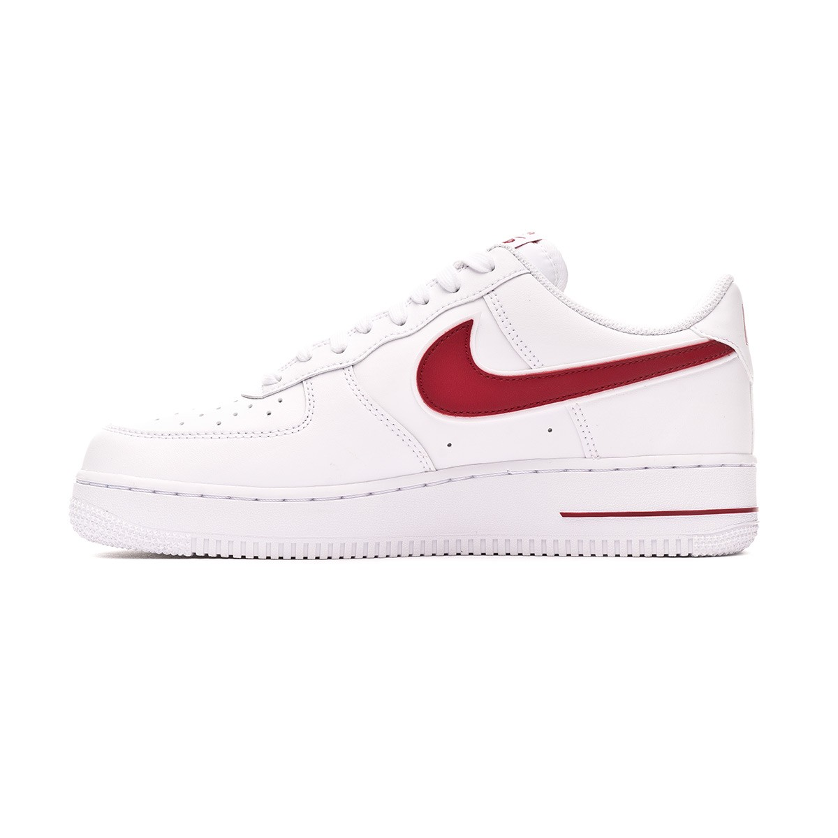 plus de photos a2c6d 8ae95 Zapatilla Air Force 1 '07 3 2019 White-Gym red