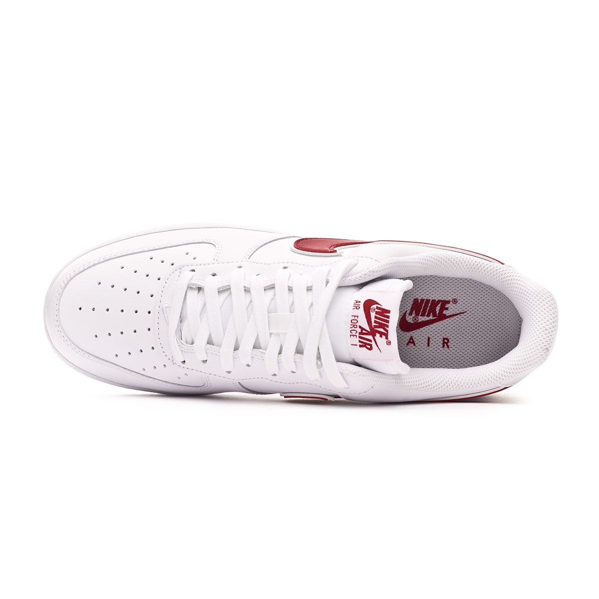 new styles 15c6e b5501 Baskets Nike Air Force 1  07 3 2019 White-Gym red - Boutique de football  Fútbol Emotion