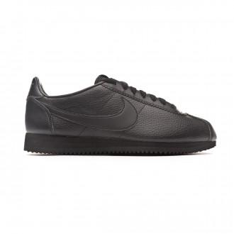 Zapatilla Nike Classic Cortez Leather 2019 Black-Anthracite