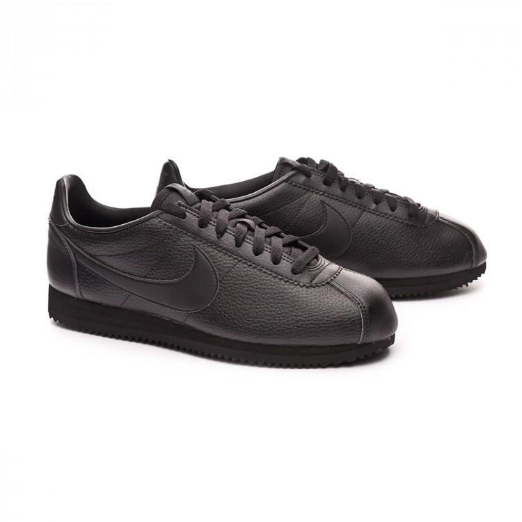 8b3aa86c6a8 Trainers Nike Classic Cortez Leather 2019 Black-Anthracite - Tienda ...