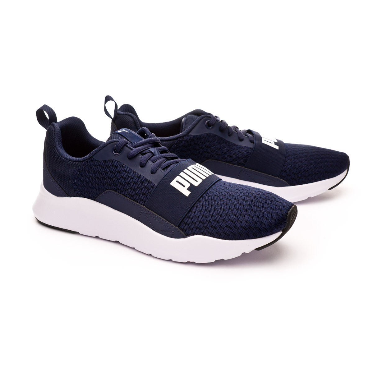 788aaded4869 Trainers Puma Wired Peacoat-White - Leaked soccer