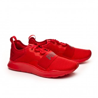 Trainers  Puma Wired Pro High risk red-Asphalt