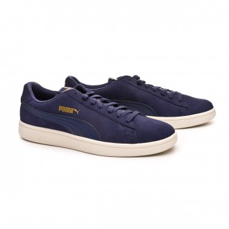 Trainers  Puma Smash v2 Peacoat-Team gold-Whisper white