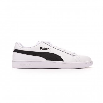 Scarpe Puma Smash v2 L White-Black