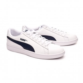 Trainers  Puma Smash v2 L White-Peacoat