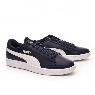 Trainers  Puma Smash v2 L Peacoat-White