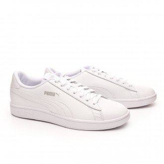 Trainers  Puma Smash v2 L White-White