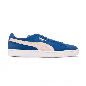 Trainers Puma Suede Classic+ Olympian blue-white