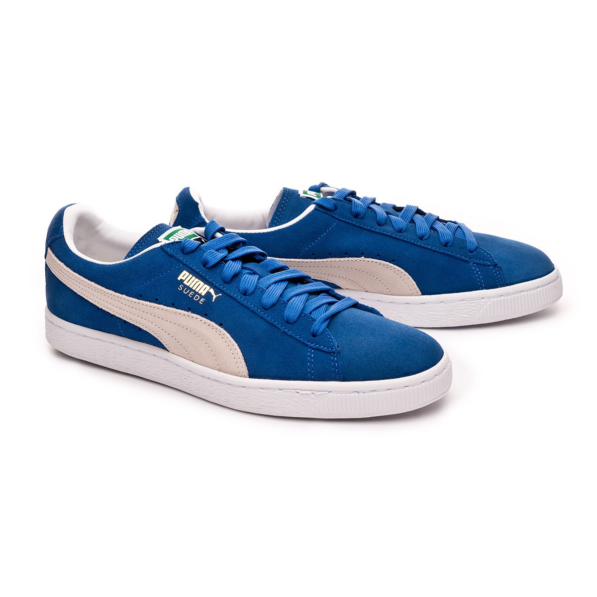reputable site 5bcf2 8d444 Zapatilla Suede Classic+ Olympian blue-white