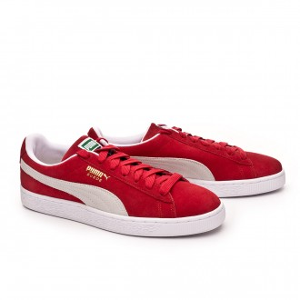 Trainers  Puma Suede Classic+ High risk red-white