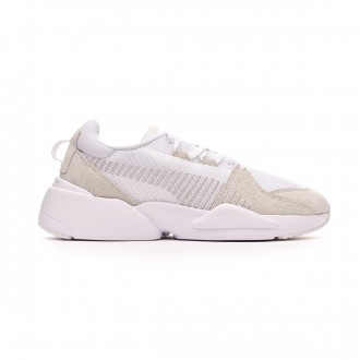 Baskets  Puma Zeta Suede White-Glacier gray