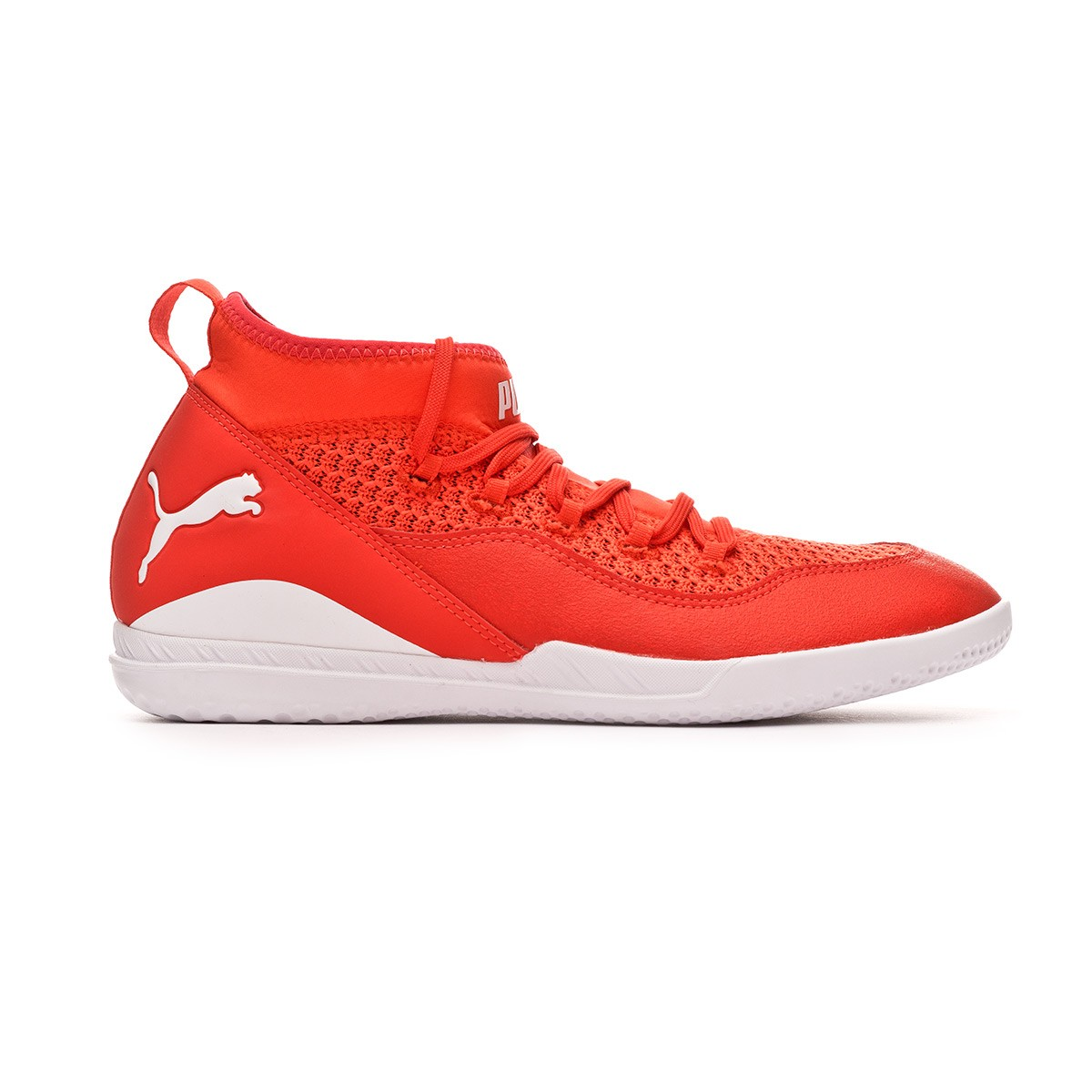 33791f1c48d7 Futsal Boot Puma 365 FF CT Red blast-White-Black - Football store Fútbol  Emotion