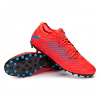 Bota  Puma Future 19.4 MG Red blast-Bleu azur