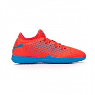 Zapatilla  Puma Future 19.4 IT Red blast-Bleu azur