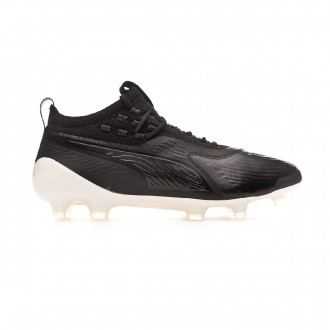 Bota  Puma One 19.1 FG/AG Black-White